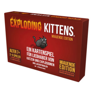 Exploding Kittens (Miauende Edition) • DE