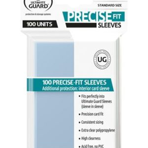 Precise-Fit Sleeves Standard Size Transparent (100)