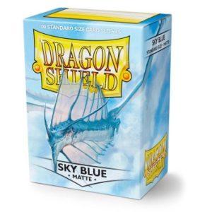 Dragon Shield Standard Sleeves – Matte Sky Blue (100 Sleeves)