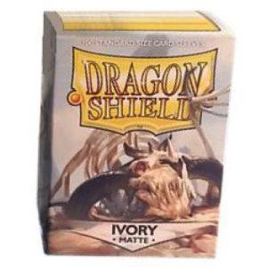 Dragon Shield Standard Sleeves – Matte Ivory (100 Sleeves)
