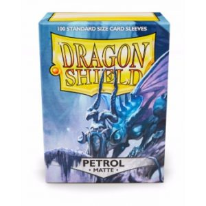 Dragon Shield Standard Sleeves – Matte Petrol (100 Sleeves)