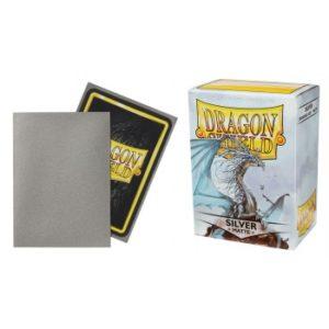 Dragon Shield Standard Sleeves – Matte Silver (100 Sleeves)