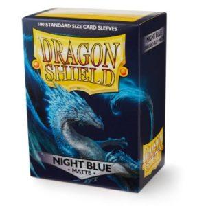 Dragon Shield Standard Matte Sleeves – Night Blue (100 Sleeves)