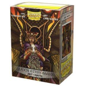 Dragon Shield Matte Art Sleeves – Queen Athromark: Portrait (100 Sleeves)