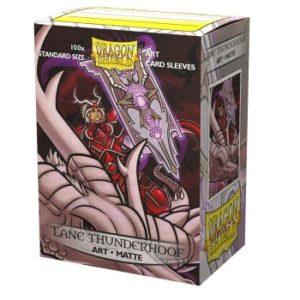 Dragon Shield Matte Art Sleeves – Lane Thunderhoof Portrait (100 Sleeves)