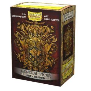 Dragon Shield Brushed Art Sleeves – General Vicar: Coat-of-Arms (100 Sleeves)