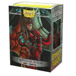 Dragon Shield Matte Art Sleeves – Emperor Scion: Portrait (100 Sleeves)