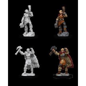 Nolzur's Marvelous Miniatures Female Human Barbarian