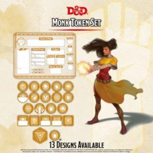 D&D – Monk Token Set