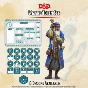 D&D – Wizard Token Set
