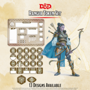 D&D – Ranger Token Set