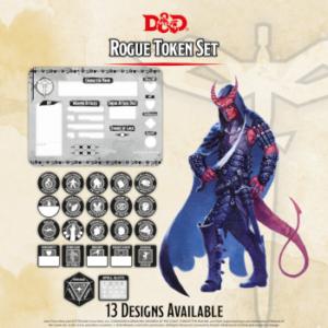 D&D – Rogue Token Set