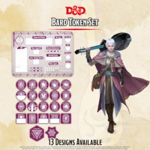 D&D – Bard Token Set