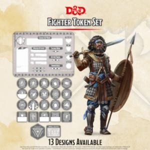D&D – Fighter Token Set