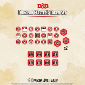 D&D – Dungeon Master's Token Set