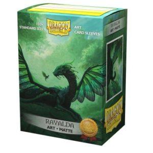 Dragon Shield Matte Art Sleeves – Rayalda (100 Sleeves)