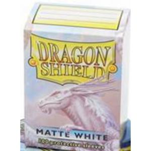 Dragon Shield Standard Sleeves – Matte White (100 Sleeves)