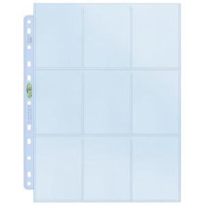 Platinum 9-Pocket-Pages (11 Hole) Display (100 Pages)