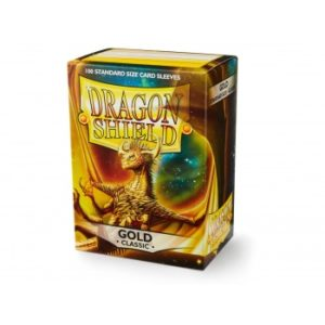 Dragon Shield Standard Sleeves – Gold (100 Sleeves)