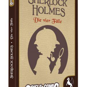 Spiele Comic Krimi: Sherlok Holmes – Die vier Fälle