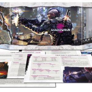 Shadowrun 6. Ed. Sichtschirmpack