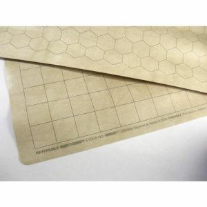 """Reversible Megamat™ (1"""" [2,54cm] Squares & 1"""" [2,54cm] Hexes)"""
