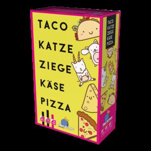 Taco Katze Ziege Käse Pizza DE