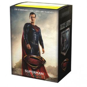 Dragon Shield Standard 100 Art Sleeves Justice League Superman