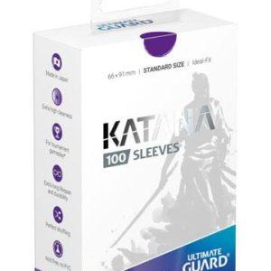 KATANA Sleeves Standard Size Purple (100)