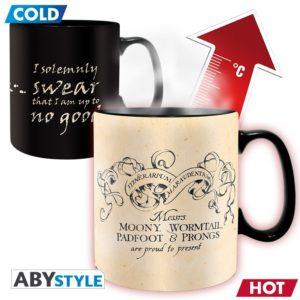 Harry Potter – Mug Heat Change – 460 ml – Marauder