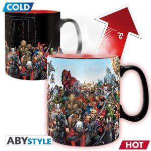 Marvel – Mug Heat Change – 460 ml Marvel Heros