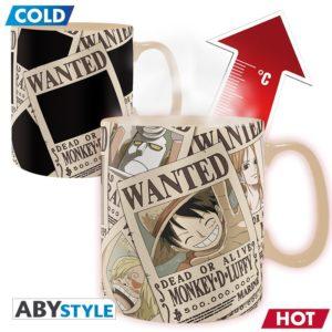 One Piece – Mug Heat Change 460 ml Wanted
