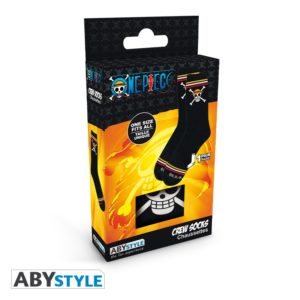 One Piece – Socks – Black – Skull
