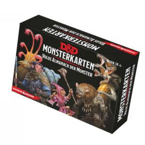D&D: Monsterkarten – Volos Almanach der Monster