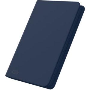 8-Pocket QuadRow ZipFolio XenoSkin™ Dark Blue