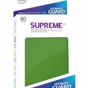 Ultimate Guard Supreme UX Sleeves Standardgröße Grün (80)