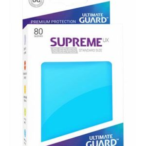 Ultimate Guard Supreme UX Sleeves Standardgröße Hellblau (80)