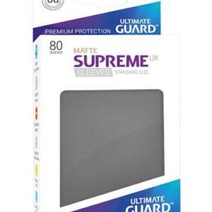 Ultimate Guard Supreme UX Sleeves Standardgröße Matt Dunkelgrau (80)