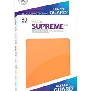 Ultimate Guard Supreme UX Sleeves Standardgröße Matt Orange (80)